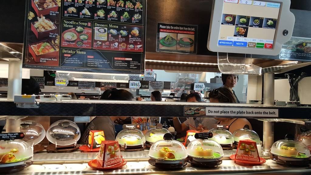 Deliciousness at Kura Sushi near Alexan LC