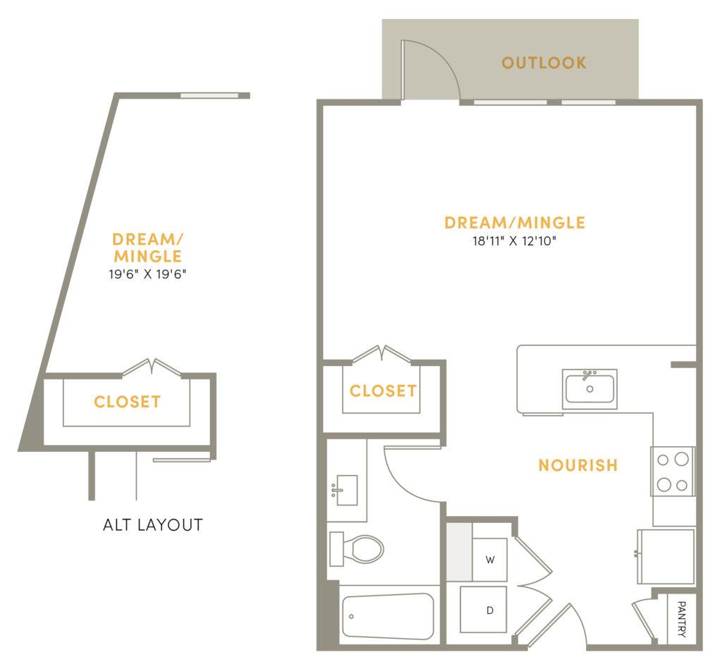 Serene Studio Luxury Apartments in Plano